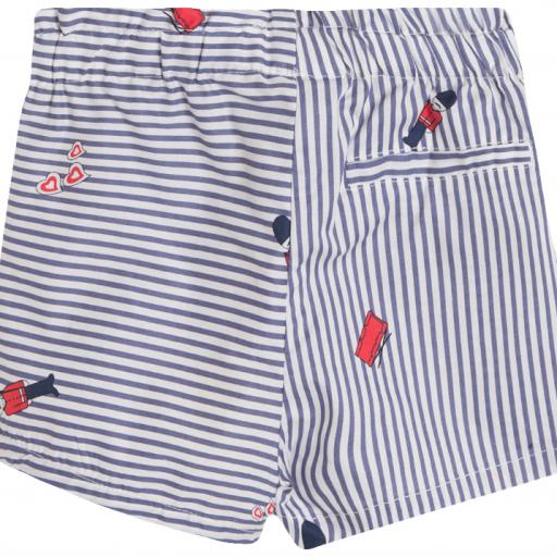 Shorts para niña de rayas [1]
