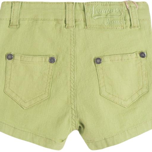 Short de niño verde vaquero [1]