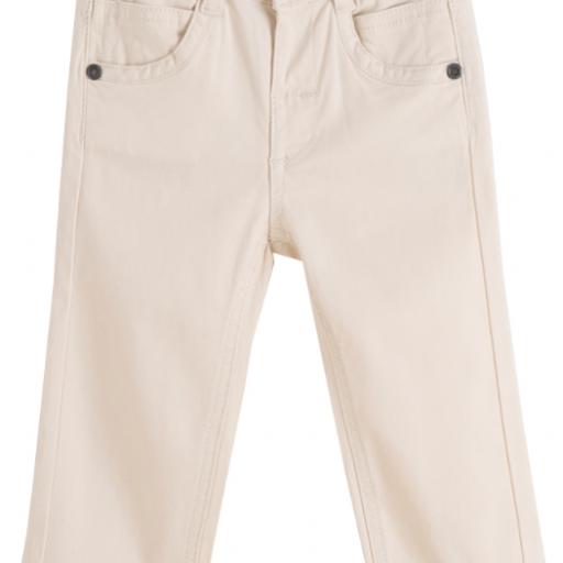 Pantalon largo de niño beige vaquero [0]