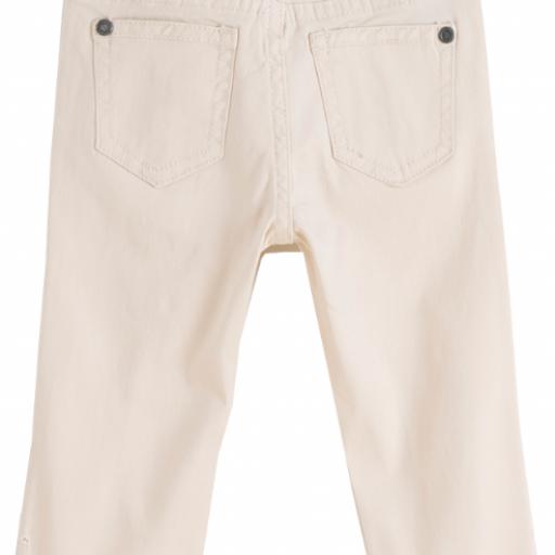 Pantalon largo de niño beige vaquero [1]