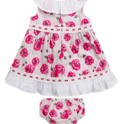 Vestido de fiesta con braguitas de estampado floral [1]