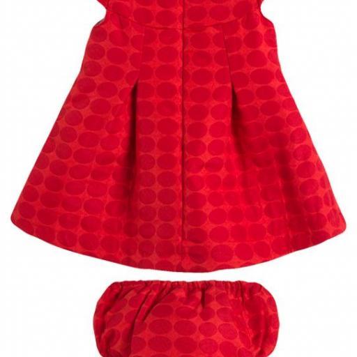 Vestido de fiesta rojo con braguita [1]