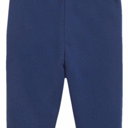 Pantalón largo de niño de felpa azul [1]
