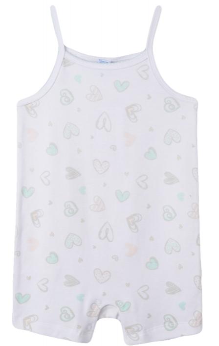 Pijama de niña corazones