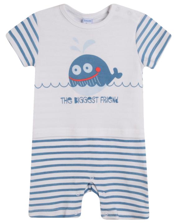Pijama de niño Ballena