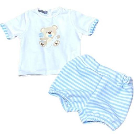 Conjunto primera puesta niño 2 piezas Baby Bear [0]