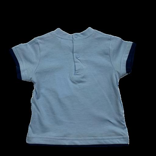 Camiseta de niño celeste Sailing Mickey [1]
