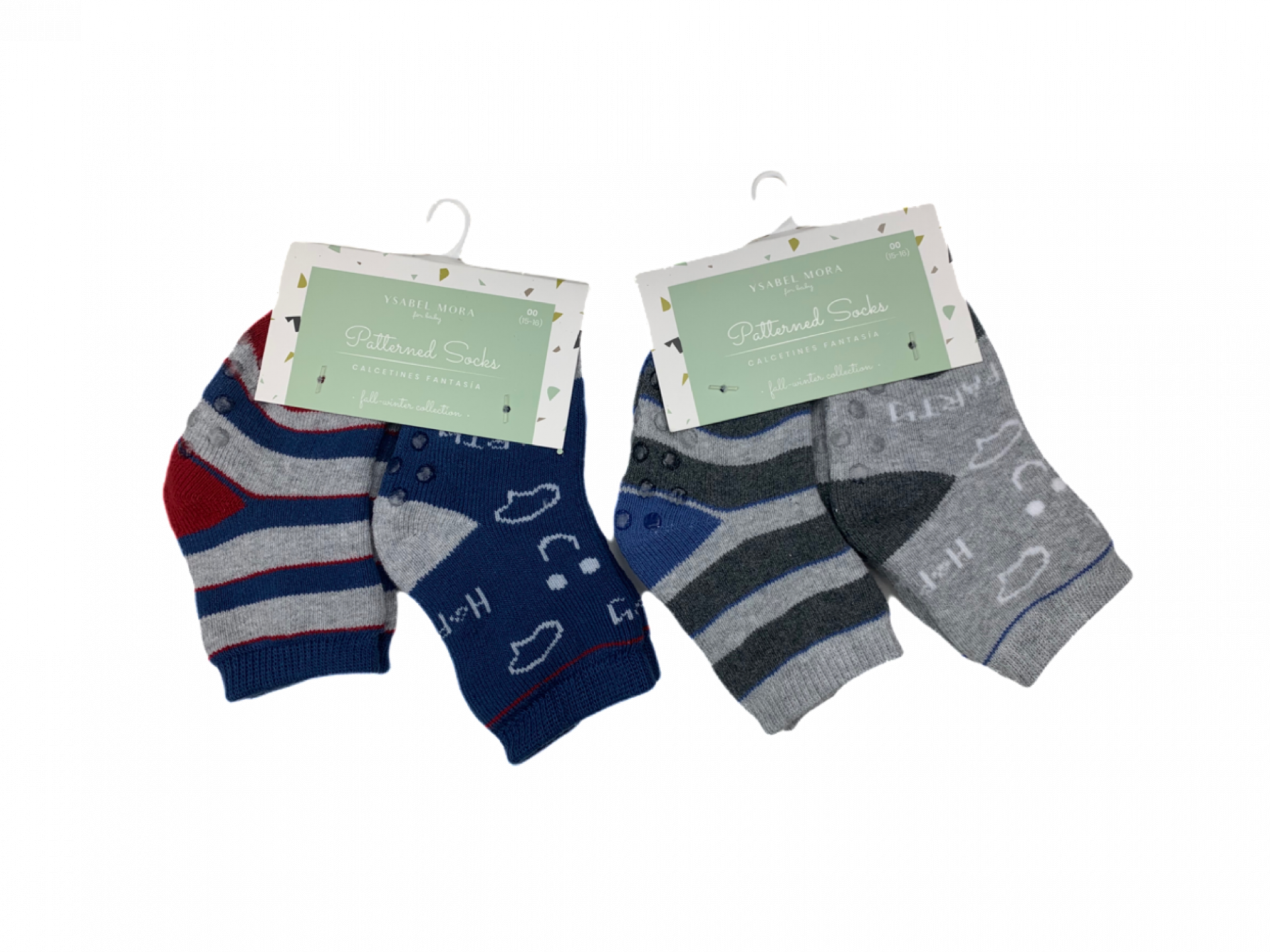 Pack de 2 pares de calcetines de niño Fun