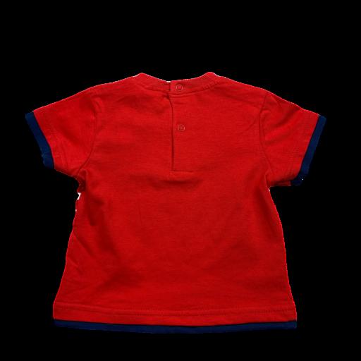 Camiseta de niño roja Sailing Mickey [1]