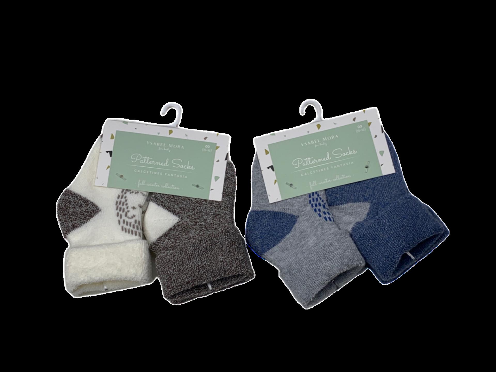 Pack de 2 pares de calcetines de niño Osito