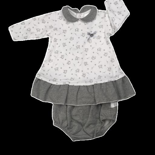 Vestido de niña Jumpy Rabbit