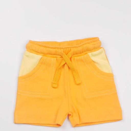 Conjunto niño amarillo y naranja (algodón orgánico) [2]
