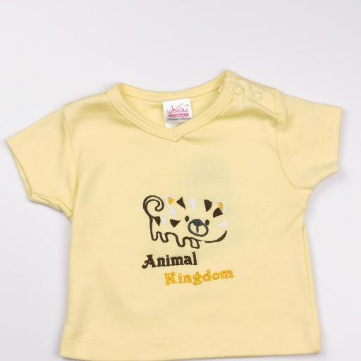 Conjunto niño amarillo y naranja (algodón orgánico) [1]