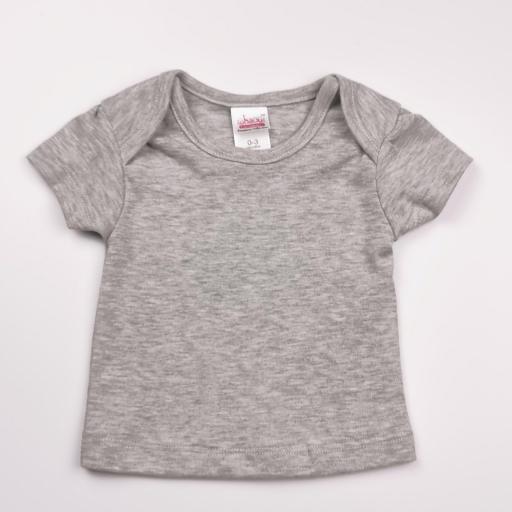 Pelele con camiseta a juego verde, blanco y gris (algodón orgánico) [2]