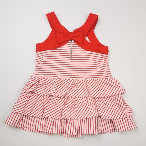 Vestido de rayas rojas [1]