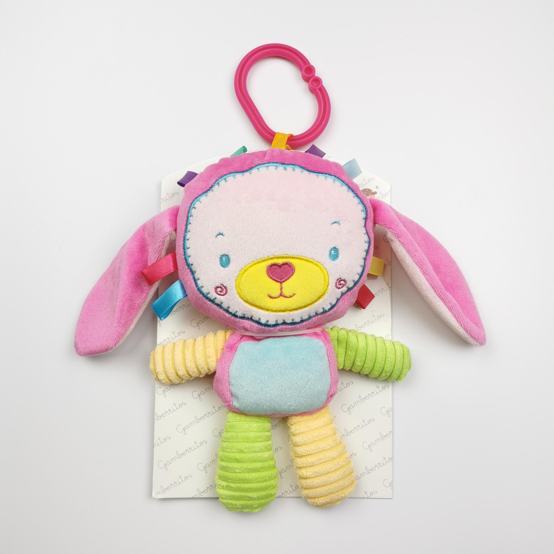 Peluche- Sonajero de bebé Conejita