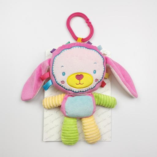 Peluche- Sonajero de bebé Conejita [0]