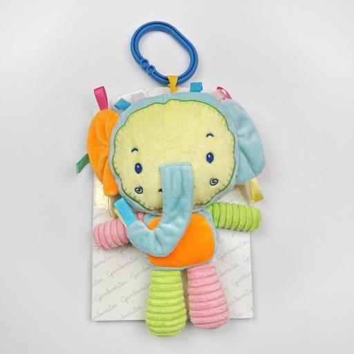 Peluche- Sonajero de bebé Elefante