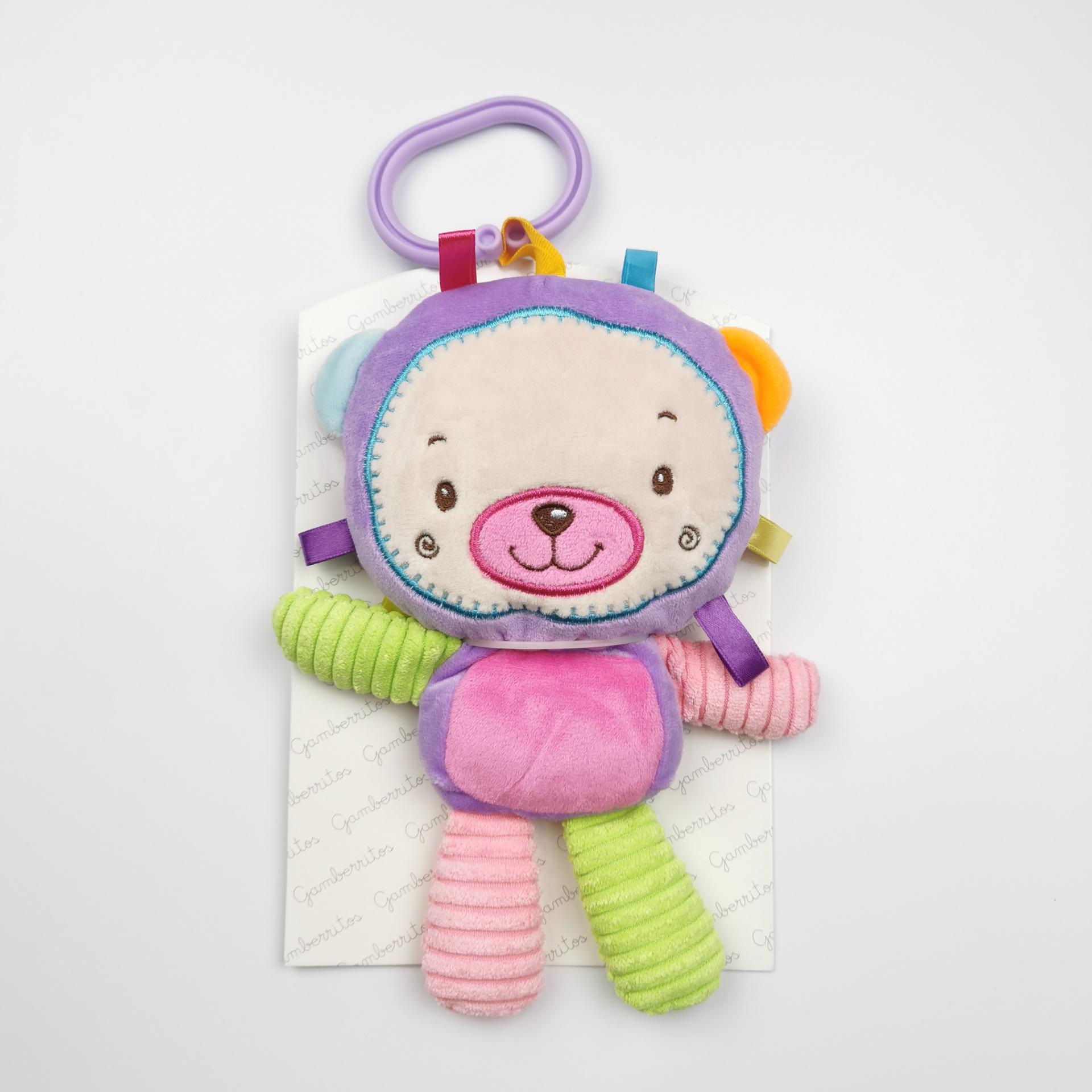 Peluche- Sonajero de bebé Osita