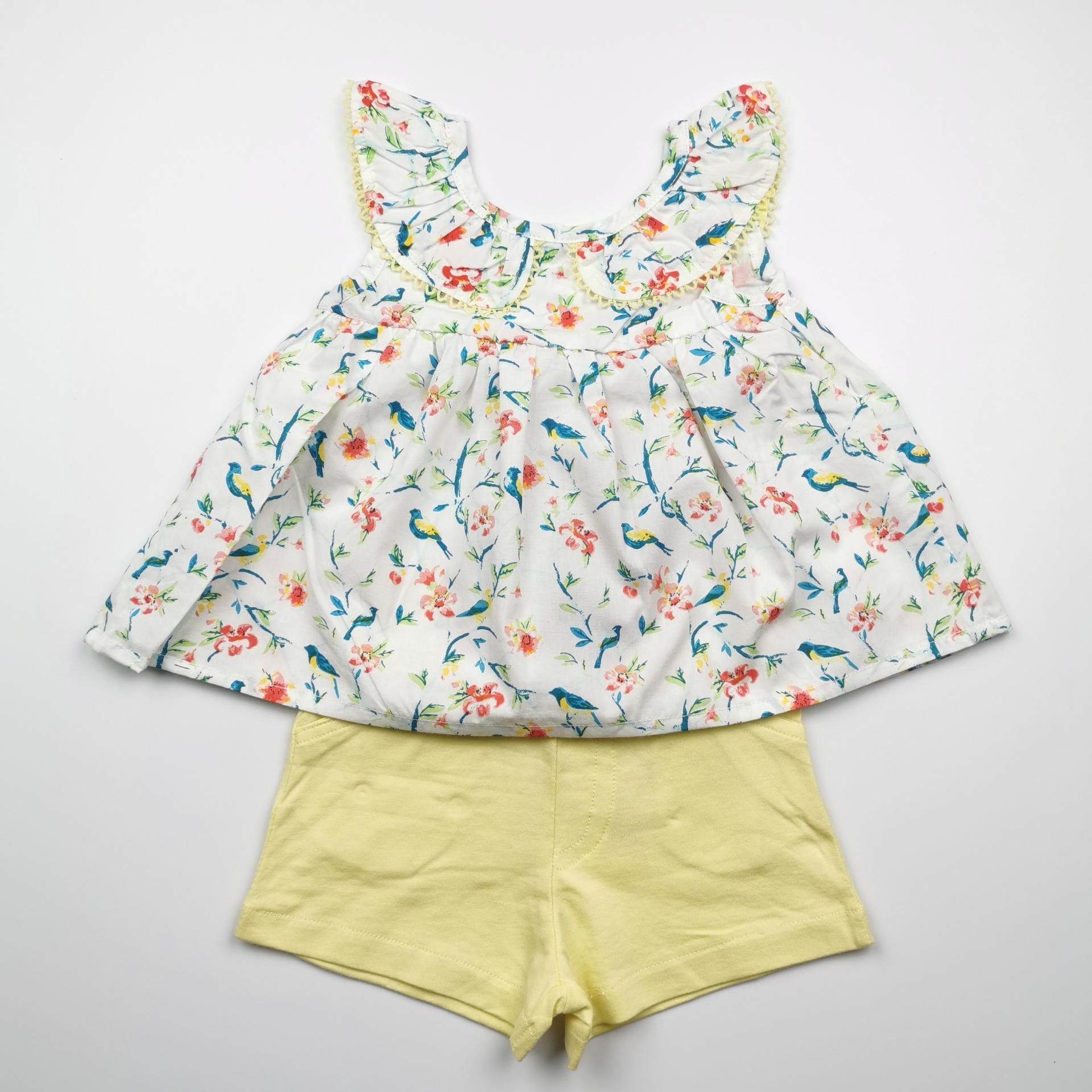 Conjunto de niña con pantalón Paradise