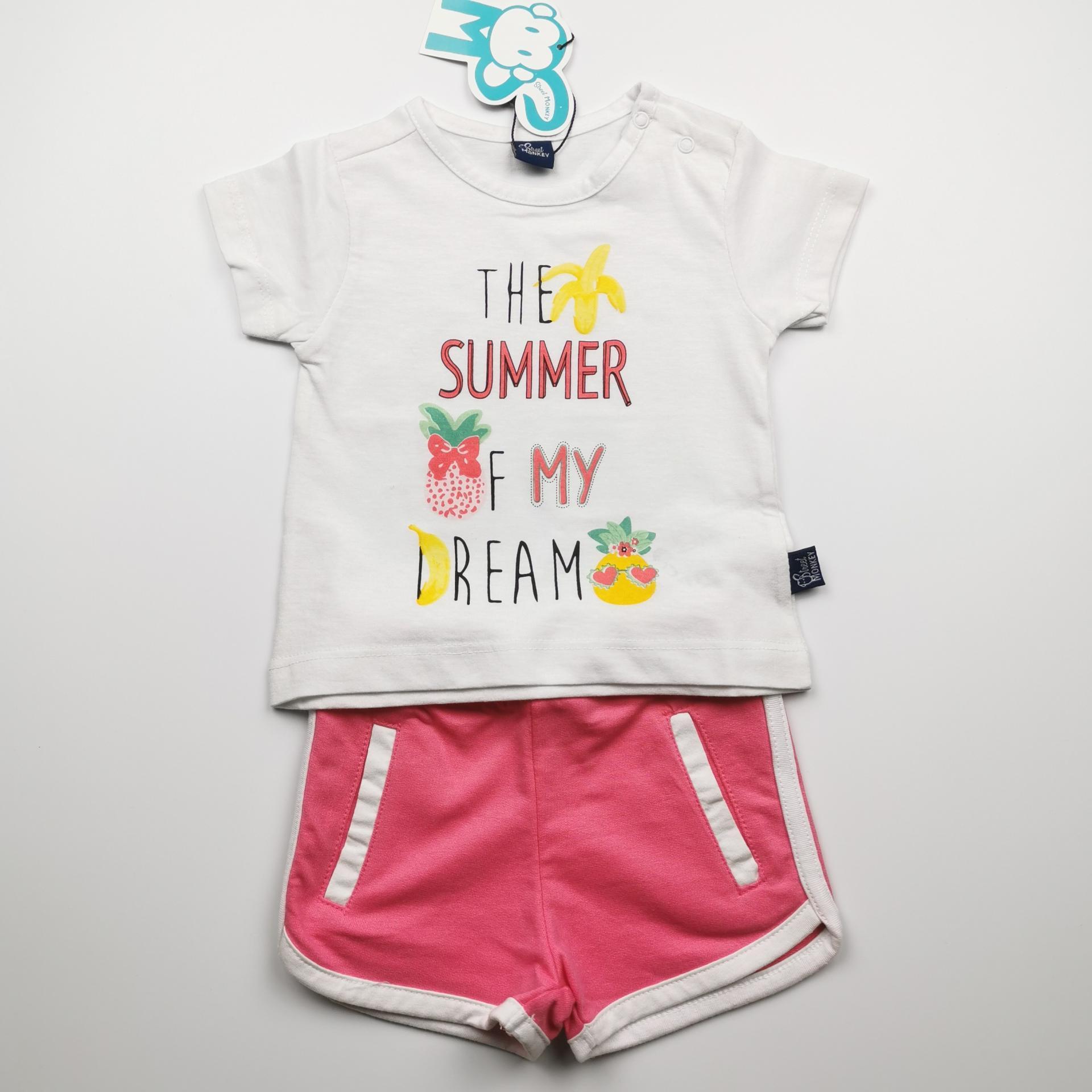 Conjunto de niña con pantalón Summer Dream