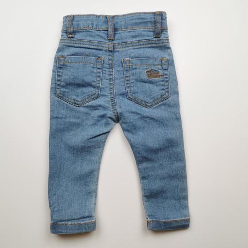 Pantalón largo de niña vaquero color denim [1]