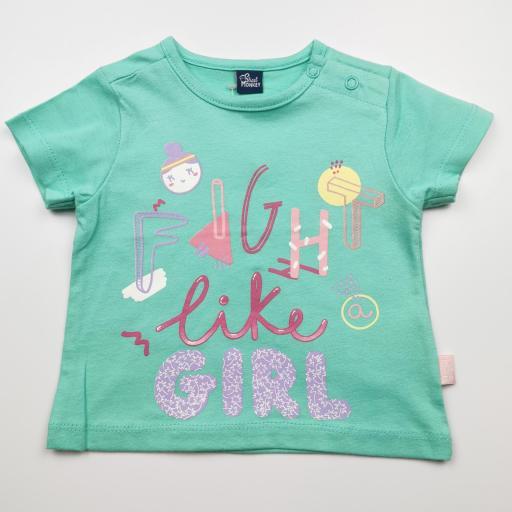Camiseta de niña caribe Fight