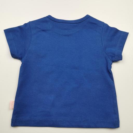 Camiseta de niña azul Fight [1]