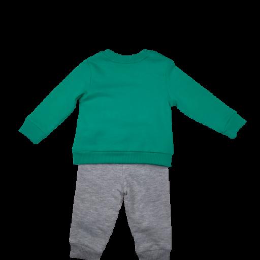 Conjunto 2 piezas niño en verde  Perrito [1]