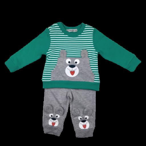 Conjunto 2 piezas niño en verde  Perrito [0]