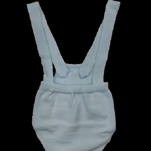 Ranita y jersey de punto para niño en celeste [3]