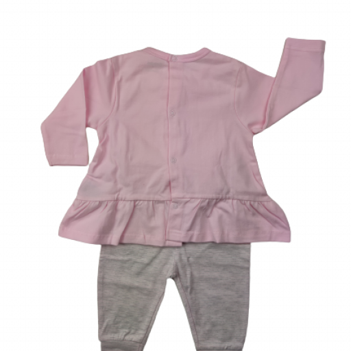 Conjunto niña de entretiempo en rosa Osito [1]