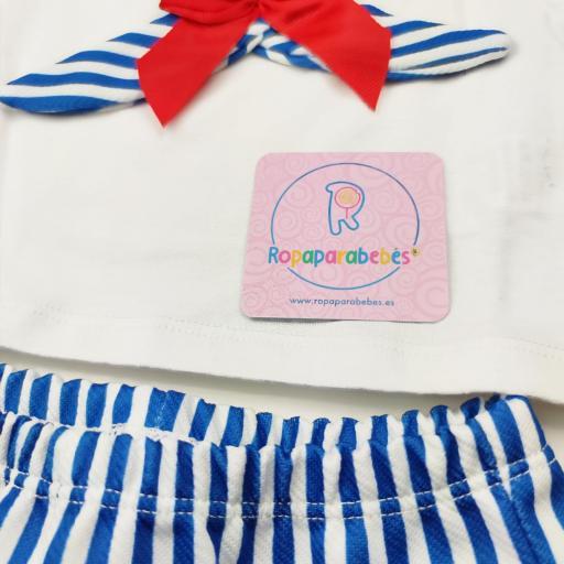 Conjunto niña 2 piezas Sailor [2]
