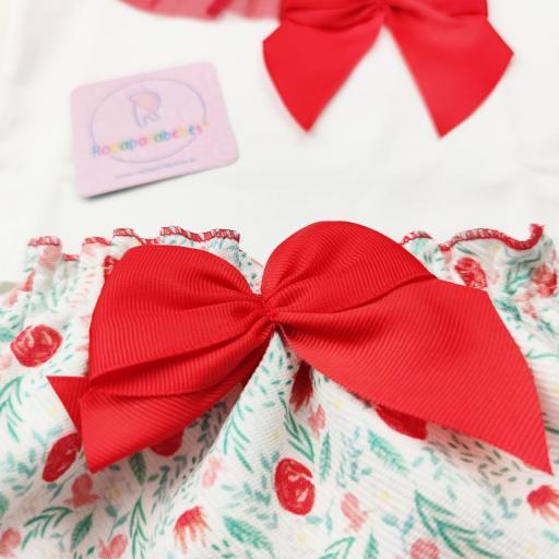 Conjunto niña 2 piezas Red Roses [2]