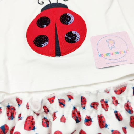 Conjunto niña 2 piezas Ladybug [2]