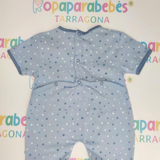 Pelele de verano para niño Bear Stars Azul [1]