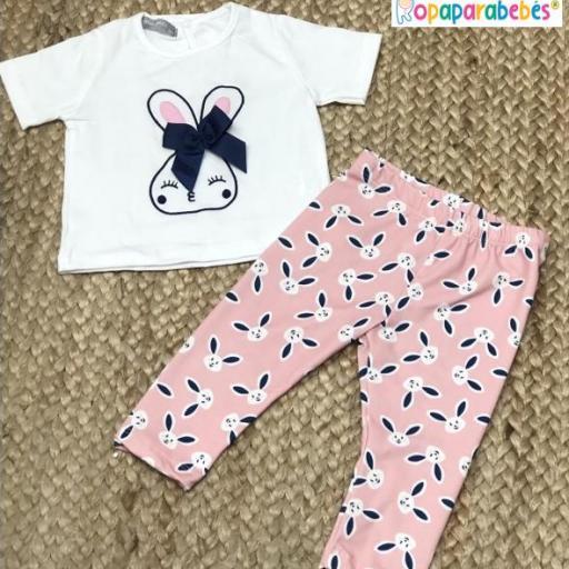 Conjunto niña 2 piezas Rabbit [0]