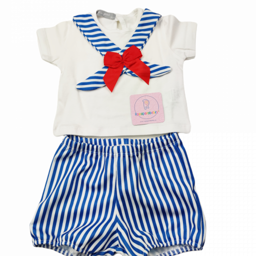 Conjunto niña 2 piezas Sailor