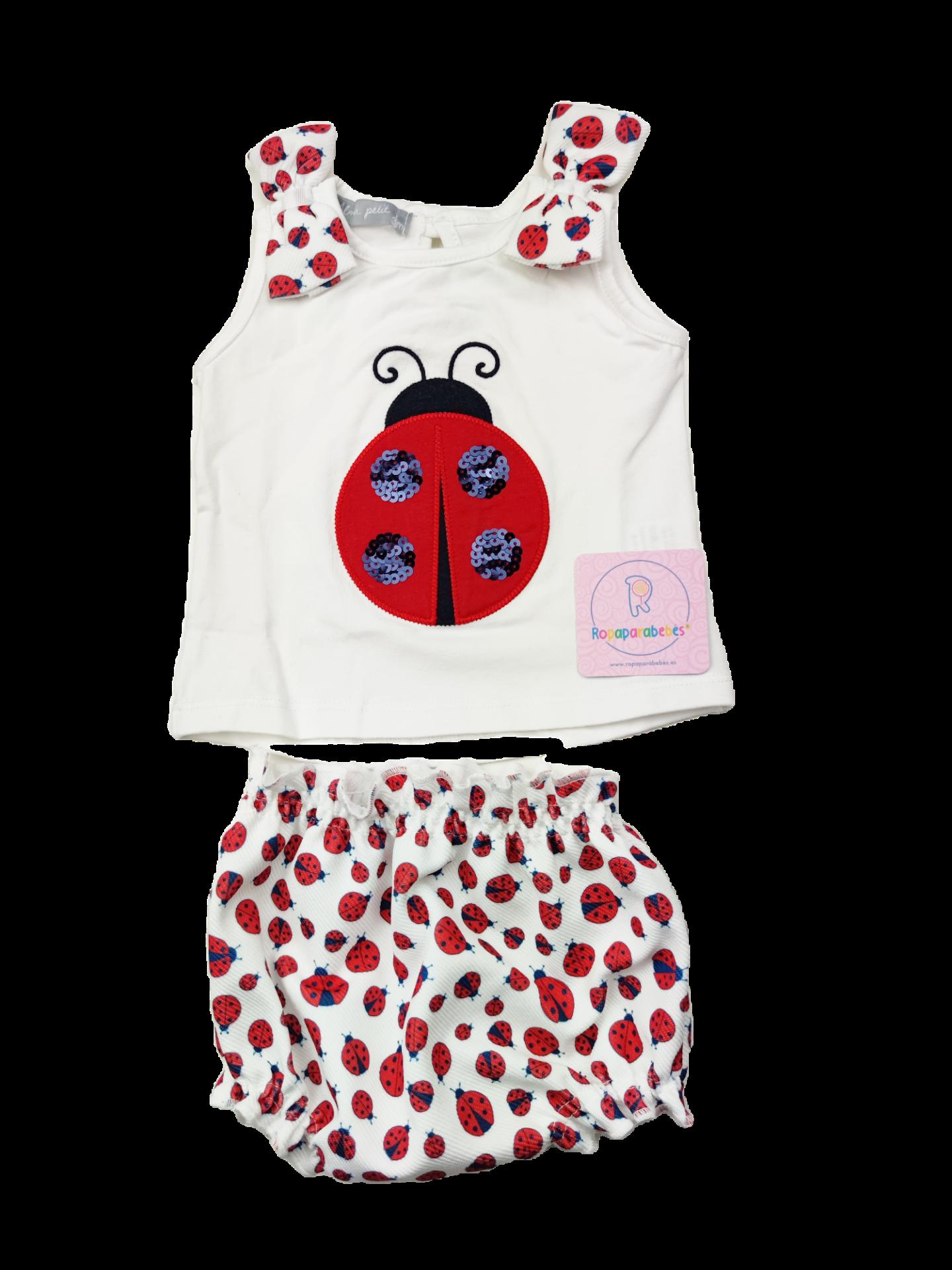 Conjunto niña 2 piezas Ladybug