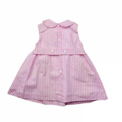 Vestido de niña en rosa Ties [1]