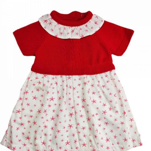 Vestido de niña de primera puesta Sea Star