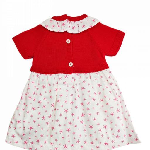 Vestido de niña de primera puesta Sea Star [1]