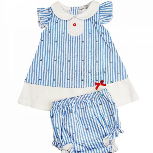 Vestido de niña Nauta
