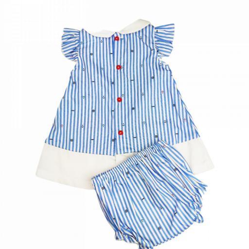 Vestido de niña Nauta [1]