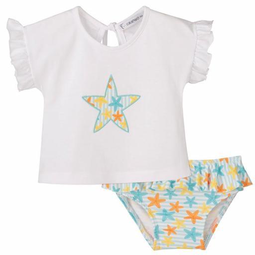 Conjunto de baño de niña Star