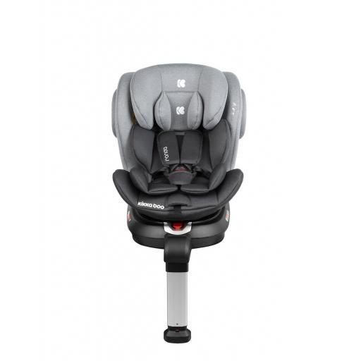 Silla de coche 0-1-2-3 (0-36 kg) Ronda ISOFIX Gris Oscuro [1]