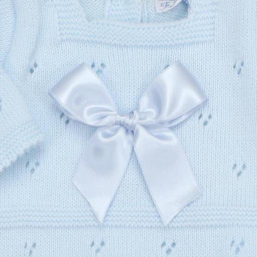 Conjunto de lana 3 piezas Lacito celeste [1]