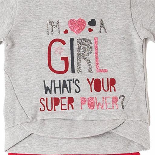 Conjunto de niña Super Power [1]