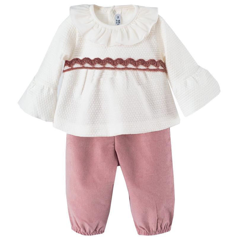 Conjunto de pantalón para niña