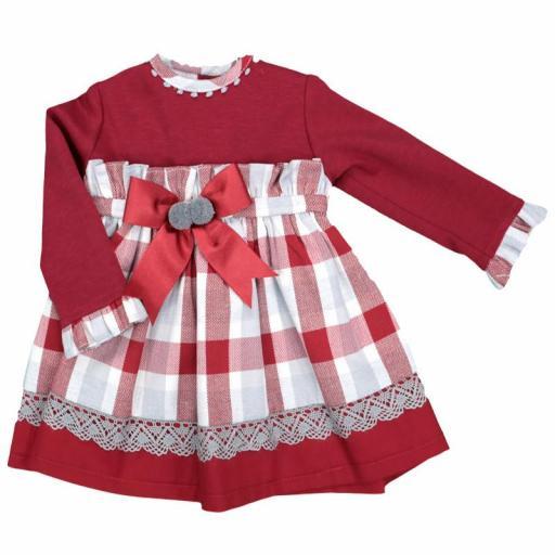 Vestido de niña Rouge